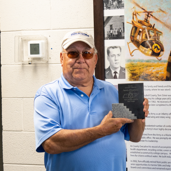 Bert Loupe Airport Manager of Colonel Tommy C. Stiner Airfield in Campbell County
