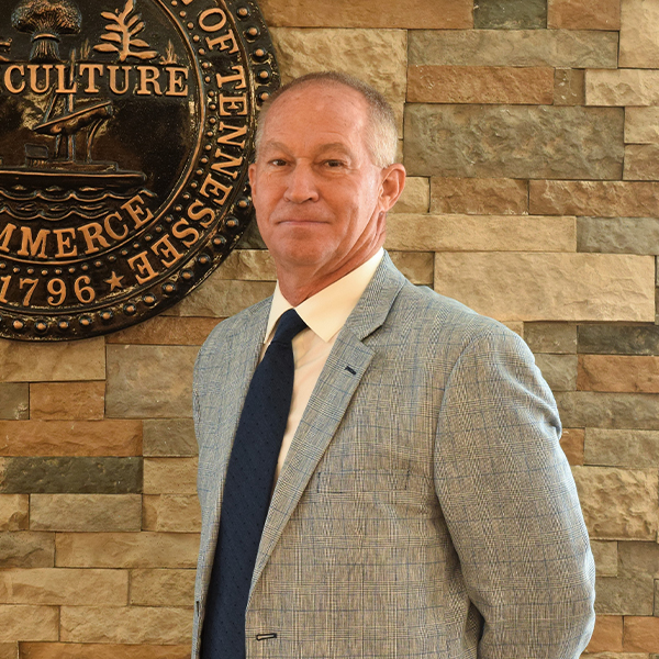 Campbell County Commissioner Johnny Bruce, district 4, chairman